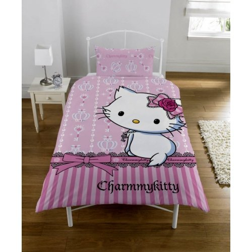 Charmmy Kitty Panel Single Bed Duvet Quilt Cover (Single Costume Ideas)