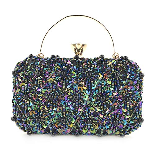 Women Sequin Decoration Handbag Evening Chain Crossbody Bags Party Handbag Banquet Bags