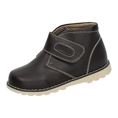 BONINO NA838B-12 Botas Piel Chocolate NIÑO Botas-Botines: Amazon.es: Zapatos y complementos