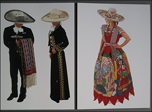 Art of the Charrería: A Mexican Tradition 4 Postcards From Art (Sombreo Hat)
