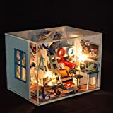 3D Wooden Jigsaw Puzzle Kit, Deluxe Detective Conan 3D Jigsaw Woodcraft, Christmas Gift/ New Year Present/ Birthday Gift for Kids/ Girls/ Friends