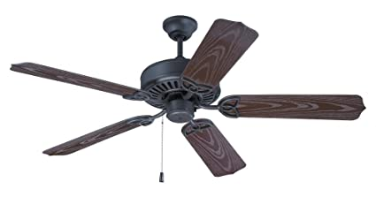 Beau Craftmade OPXL52BR, Outdoor Patio Fan Brown 52u0026quot; Outdoor Ceiling Fan.  (Blades Sold