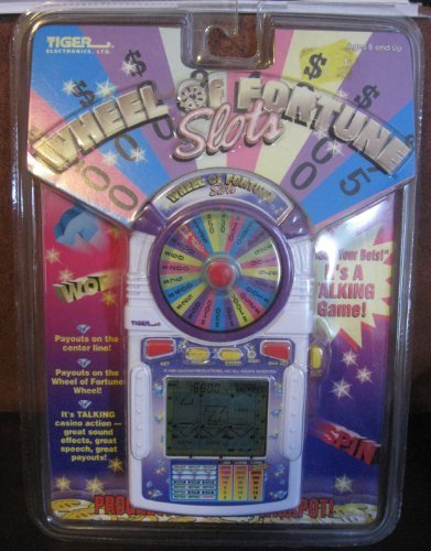 Wheel of Fortune Slots by Tiger Electronics