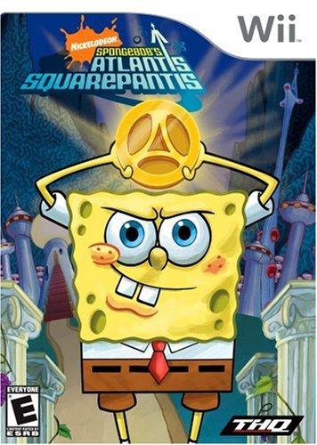 Spongebob Squarepants: Atlantis Squarepantis - Nintendo Wii