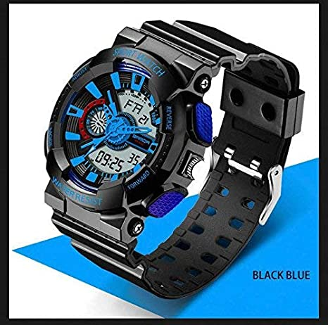Amazon.com : Any Wanted Sanda Sport Brand Electronic Watch Digital Men Wristwatches White G Style Shock Military Waterproof Swim Male Reloj Watch : Sports & ...