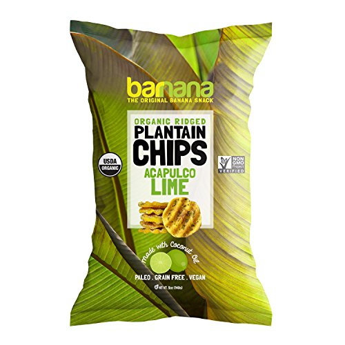 Organic Plantain Chips - Himalayan Pink Sea Salt
