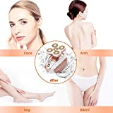 [2020 Newest Version]Women Waterproof Painless Hair Remover,Cordless Electric Shaver Leg Hair Removals Trimmer Epilator,Good Finishing and Well Touch for Leg Face Lips Body Arm Bikini Area As Seen On