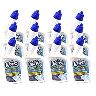 12-Pack -The Works Classic Clean Toilet Bowl Cleaner 24 Fl Oz Each