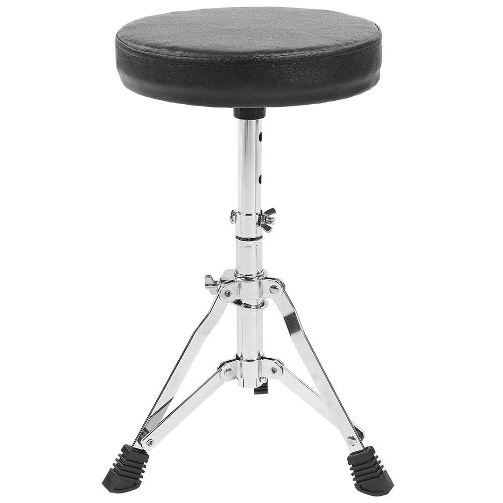 Cocoarm Drum Set Kids Junior Drum Kit 5 Drums 2 Cymbals 2 Drumsticks Stool Drum Pedal for Children Beginners (Black, 5-Piece) by Cocoarm (Image #6)