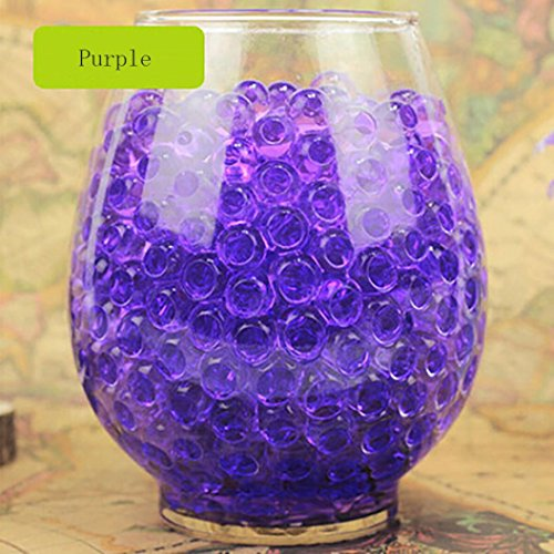 [Lookatool 7000 PCS Water Bullet Balls Water Beads Mud Grow Magic Jelly Balls - Wedding Decoration Vase Filler - Furniture Decorative Vase Filler - For Stress Balls, Summer Rainbow Mix] (Scary Dentist Costume)