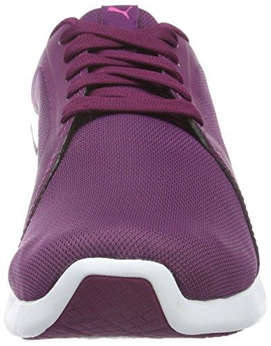 Puma St Trainer Evo, Zapatillas Unisex Morado (Magenta Purple-puma White 17)
