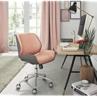 ELLE Décor Ophelia Bentwood Task Chair, French Pink