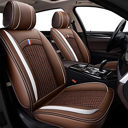 OYDA Ice Silk Car Seat Cover - Non-Slip Suede Backing Universal Fit Seat Cushion For Fabric And Leather Car Seats-1: Kitchen & Home