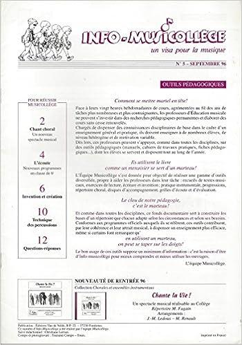 Info Musicollège Un Visa Pour La Musique N 5 Septembre