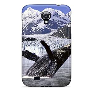 Galaxy S4 Case Slim [ultra Fit] Whale Protective Case Cover