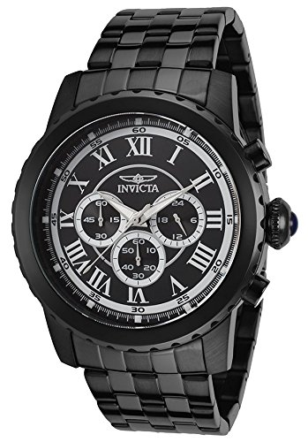 Invicta Men's Specialty Chrono Black IP Stainless Steel and Dial - Invicta Sunglasses