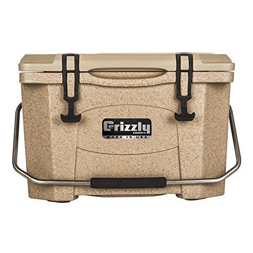 Grizzly 20 Quart Sandstone Tan Cooler
