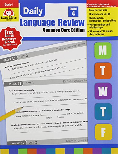 Daily Language Review, Grade 4 (Evan Moor Daily Language Review)