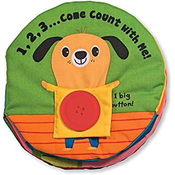 Melissa & Doug Soft Activity Baby Book - 123 Come Count With Me
