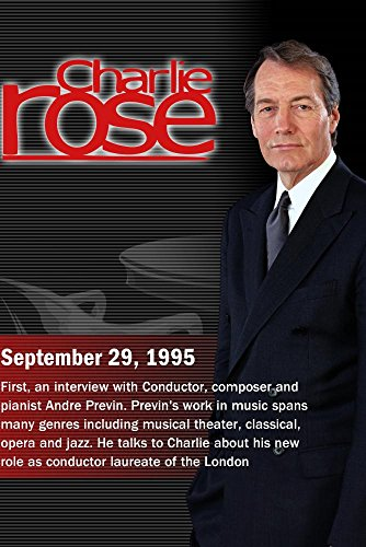 Charlie Rose with Andre Previn; David Attenborough; Dinesh D'Souza (September 29, 1995) by