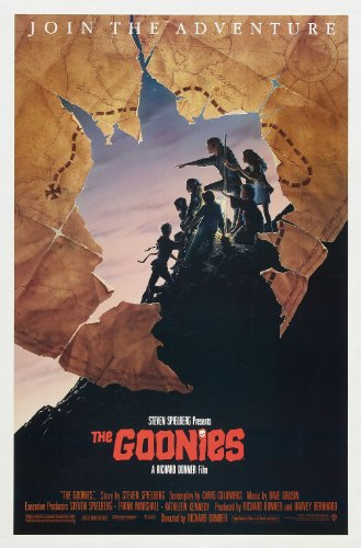 "The Goonies  Movie Poster 24""x36"""