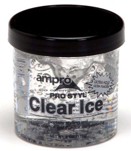 Ampro Effacer le style de protéines de Ice Hair Styling Gel, 6 once