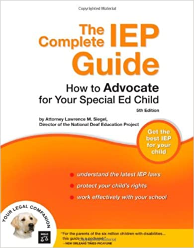 The Complete IEP Guide: How to Advocate for Your Special Ed Child - Popular Autism Related Book