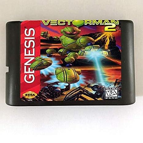 Value-Smart-Toys - Vectorman 2-16 bit MD Games Cartridge For ...