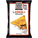 Cheap Food Should Taste Good, Tortilla Chips, Kimchi, Gluten Free Chips, 5.5 oz (Pack of 12)