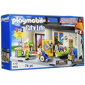Playmobil 5953 Maletín Conjunto de hospital 6