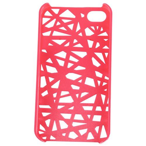 TOOGOO (R) Custodia rigida caldo rosa Birds Nest Case per Apple iPhone 4G, 4GS