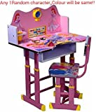 Ratna International Kids Table And Chair Set (Pink)