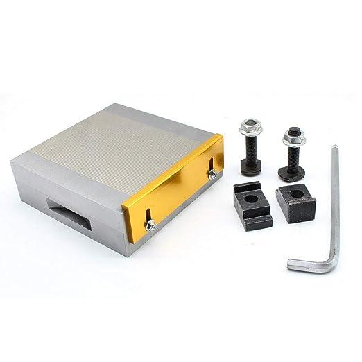 Placa de sujeción magnética, 150 x 150 mm, placa tensora de mesa ...