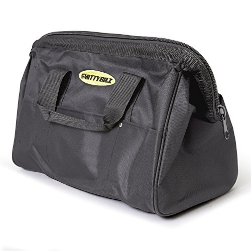 Smittybilt 2726-01 Black Winch Accessory Bag with Smittybilt Logo