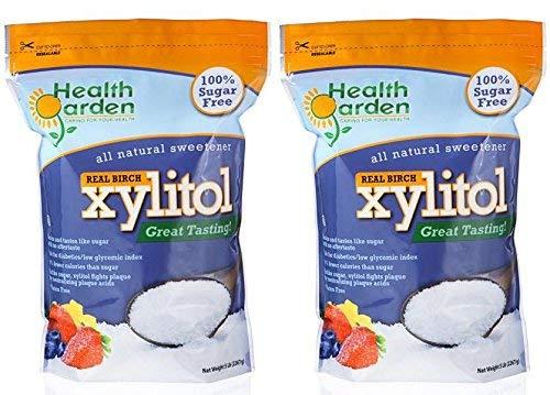 Health Garden Kosher Birch Xylitol 5 lbs. 2-PACK by HEALTH GARDEN