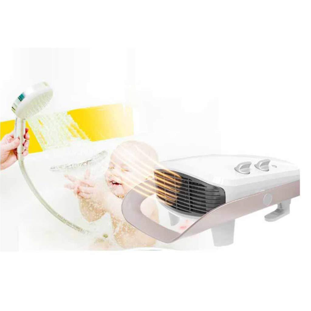 Wei/ß ZHHL Heizger/äte Home Baby Bad Bad Wandhalterung Elektrische Hei/ßluft Stille Intelligente Temperaturregelung Mini 2000 Watt