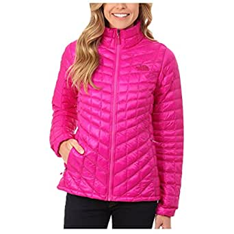 The North Face Women Thermoball Full Zip Jacket Fuschia Pink CTL4146 Size X-Small