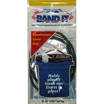 Garbage Can Band elastic 30 gal loop gallon grip ring