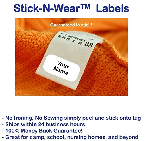 Stick Clothing Labels Stick n Wear Personalized product image