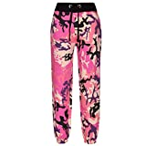 A2Z 4 Kids Kids Boys Girls Camouflage Joggers Jogging Pants - A2Z Camo Trouser Baby Pink - 11-12 Yr