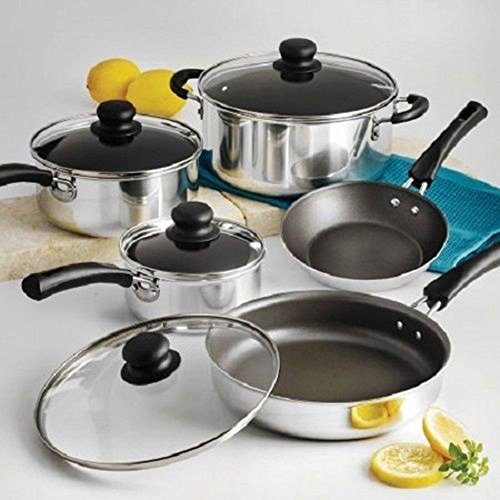 Nonstick 9-Piece Pots And Pans Cookware Set - Www Macys Https