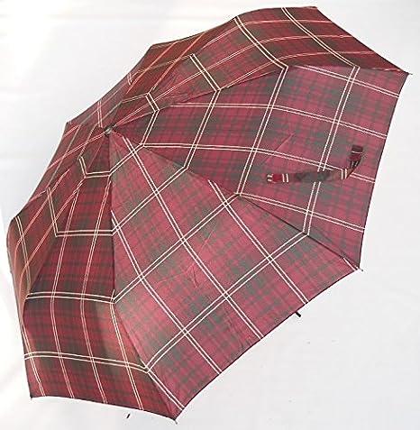 Blue Drop - Paraguas gigante unisex, plegable, automático, cortavientos, pararrayos, con