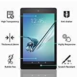 All-New Fire HD 10 Screen Protector, ZAOX Tempered Glass Screen Protector Film for Amazon Kindle Fire HD 10 Tablet with 10.1 1080p [9H Hardness] [Crystal Clear] [Bubble Free] (1 PACK)