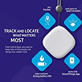 Samsung SmartThings SM-V110AZWAATT Tracker Real Time LTE GPS Tracking Device (1 Year Data), White