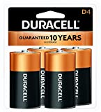Best D Batteries - Duracell Coppertop Alkaline D Batteries - 4 Count Review