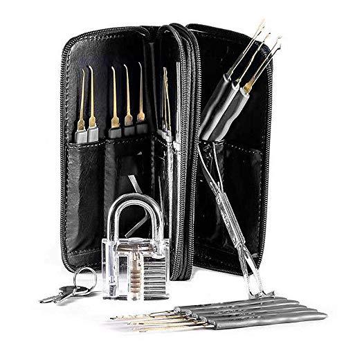 Volwco 26Pcs Durable Home Repair Tool Set Kit Professional Visible