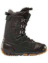 Rome Libertine Snowboard Boots - Black, Men's 9.5