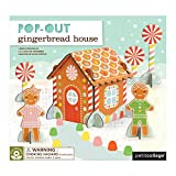 Petit Collage Pop-Out and Build, Gingerbread House Playset