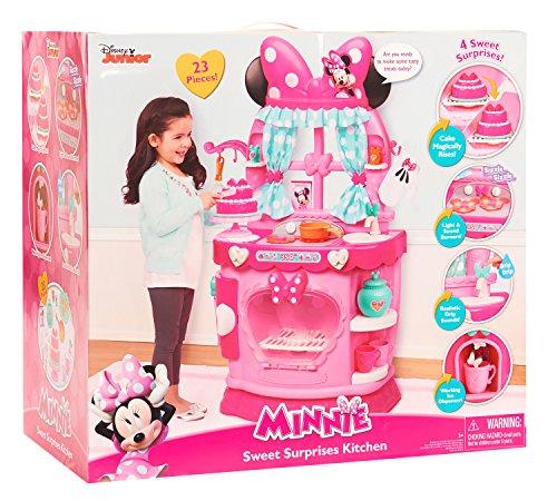 Jusub Minnie Bow Tique Sweet Surprises Kitchen Toy