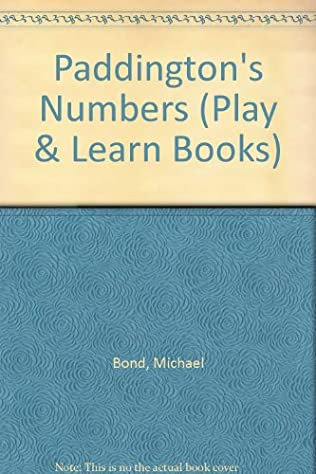 book cover of Paddington\'s Numbers